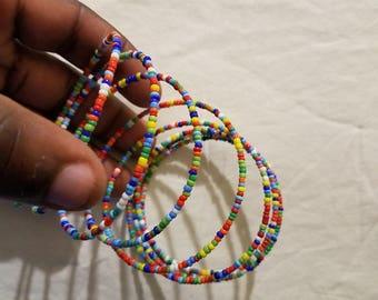 spiral African bracelet