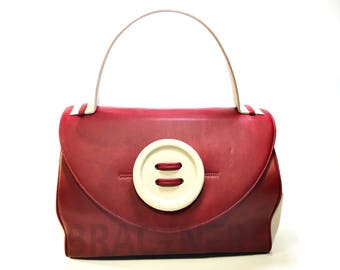 Bag with button. Art. BP-1007