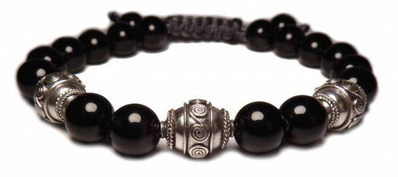 The black Bali bracelet