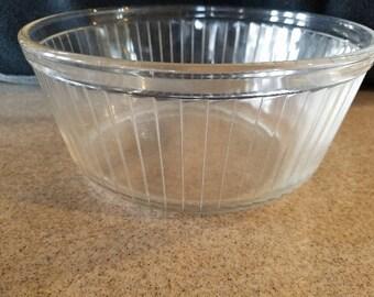 Vintage Pyrex Souffle Dish