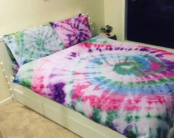 Tie Dye Quilt Set