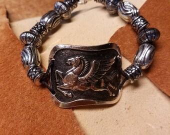 Bracelet en argent Pegasus