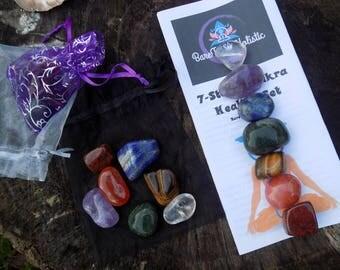 7-Stone Chakra Healing Kit