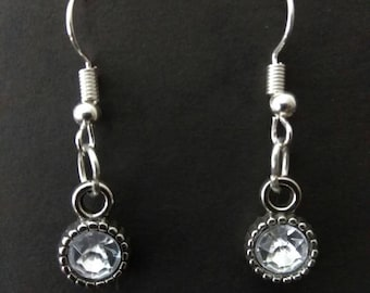 Party Silver Plated Dangle Earrings