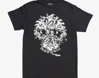 Skullz3 T-Shirt, Apparel, T-Shirts, Leotards, Sweatshirts, Accessories, Art, Furniture, Cards