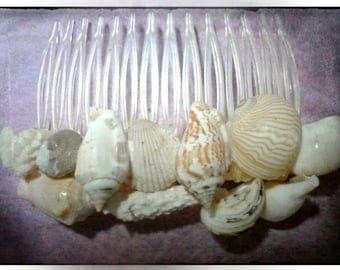 Handmade Seashell Hair Combs Mermaid Hair Accessories Flower Girl Hair Combs