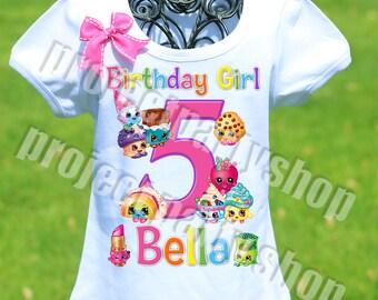 Shopkins Birthday Shirt