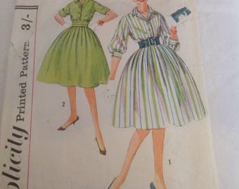 Late 50 s early 60 s dress pattern