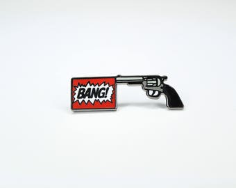 BANG! Hard Enamel Pin