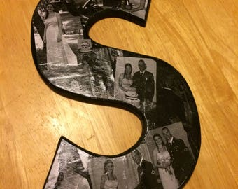 Wooden Photo Letters