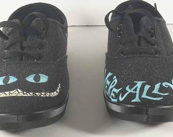 Cheshire Cat We're All Mad Here shoes