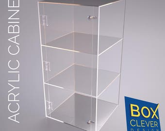 600 x 300 x 300 acrylic display cabinet