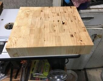 Pine End Grain Cutting Board