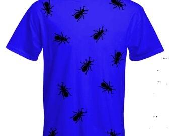 Halloween ants Tshirt-ants Tee-insect costume-halloween outfit-costume Tshirt-halloween-slogan Tee-statement Tshirt-mens short sleeved Tee-
