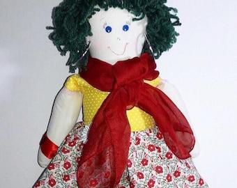 Geoconda Doll Handmade Craft