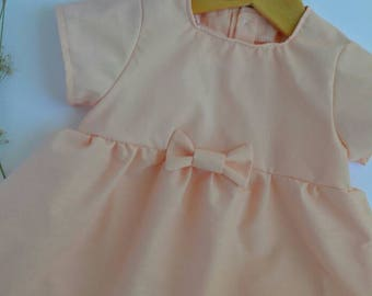Pink baby dress - Baby dress - Ready to ship baby dress