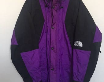 Supreme Vintage 90s North Face Gore Tex Jacket Purple Men's XS LADDER LOCK