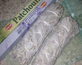 White Sage and Incense
