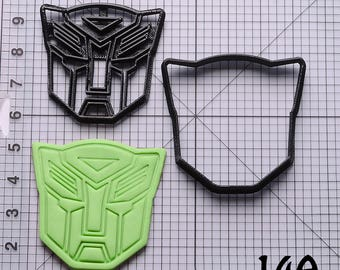transformers cookie cutter transformers fondant cutter transformers Birthday Gift transformers Gift transformers Party
