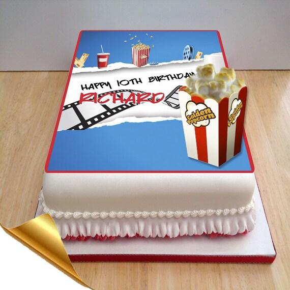 Cake Mate Decorating Icing Shelf Life : Icing Cake Topper 11x7  Cinema