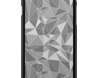 Case Iphone 4, 5, 6, 7 geometric 013 black edges