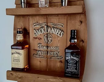 Jack DANIELS Bar shelf