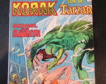 Korak Son of Tarzan #59 D.C. Comics 1975