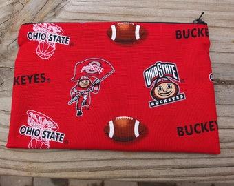 Zip Pouch Ohio State Buckeyes