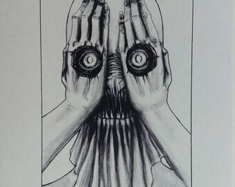 I still see you - illustration - art print