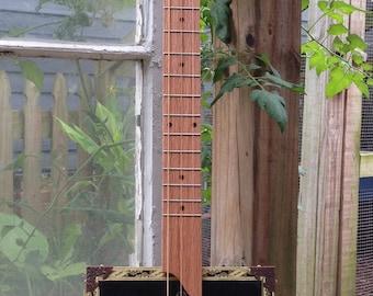 Brick House Cigar Box Guitar