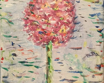 "Mini painting ""flower"""