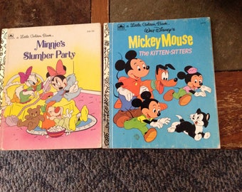 Disney Mickey and Minnie little golden books