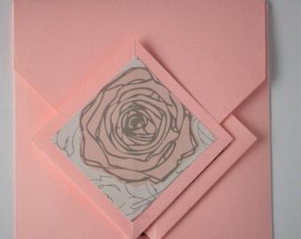 Rose Card - Blank Inside