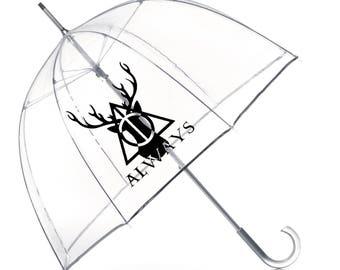Harry Potter Always Stag Patronus Umbrella- Harry Potter Gift