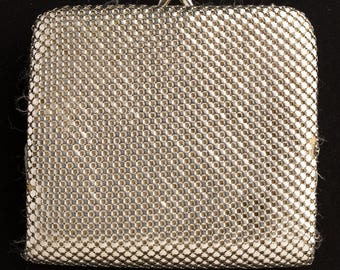 Silver Metal Mesh Ladies Wallet