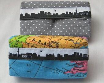 handkerchief pouch  Berlin skyline