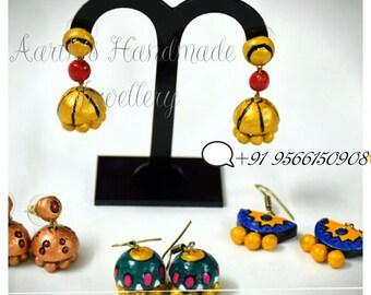 Earthy Terracotta earrings