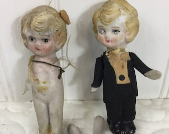 1920s Wedding Cake Toppers