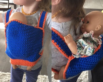 Adjustable Doll or stuffed animal carrier