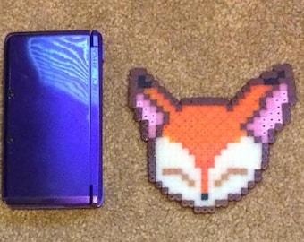 Perler Fox Face