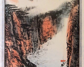 Traditional Chinese Painting Home Decor & Office Decor Asian arts, ink Painting, gift