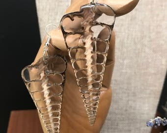 Sea Inspired Shell Earrings