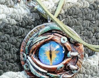 Dragon Eye Pendant Necklace