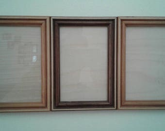 4x6 picture frame, wood picture frame, picture frame, handmade picture frame,photo frame,