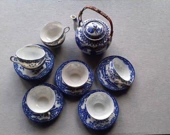 MARUKU Japanese tea set