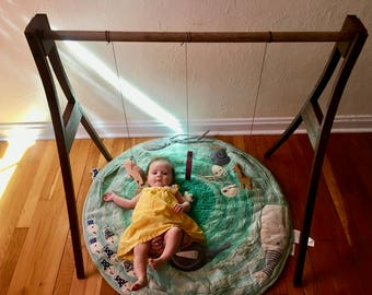 Wooden Baby Play Gym (Customizable)