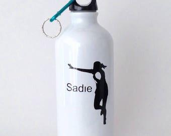 500ml Aluminium rugby sport water bottle