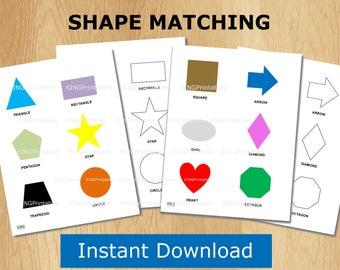 Shape Sorter, Kids Printable Activities, Toddler Worksheets, Learning Shapes, Color Sorter, Quiet Book Ideas