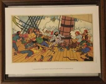 Lot 3 engravings Tintin