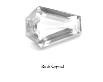 Coffin Gemstone Rock Crystal 3ct 5ct & 10ct
